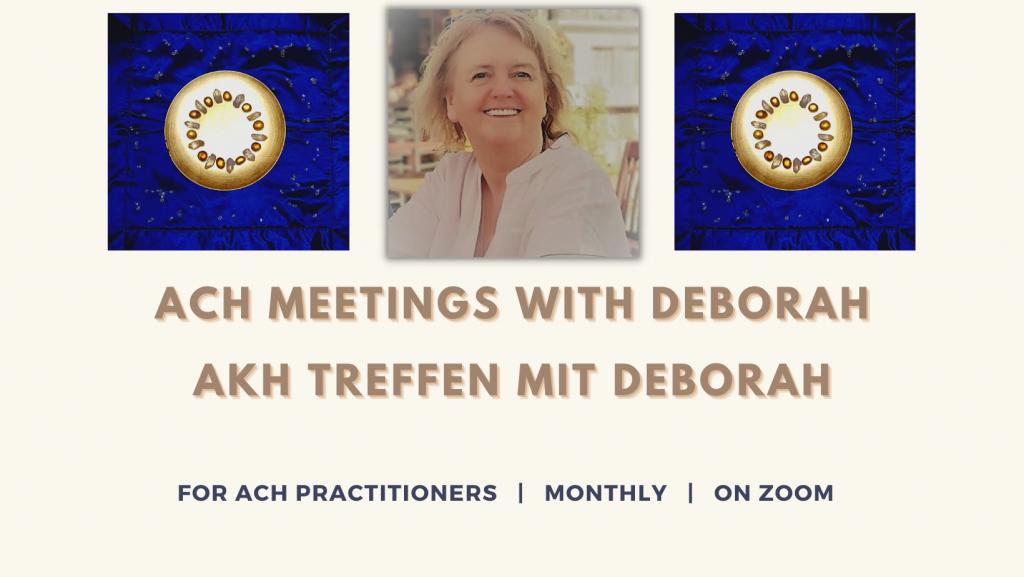 ACH Deborah 2021 meetings